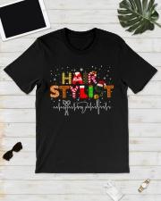Hair Stylist Christmas shirt Classic T-Shirt lifestyle-mens-crewneck-front-17