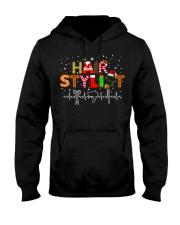 Hair Stylist Christmas shirt Hooded Sweatshirt thumbnail