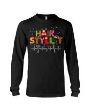 Hair Stylist Christmas shirt Long Sleeve Tee thumbnail