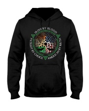 Irish by blood patriot by choice American Tree Hooded Sweatshirt thumbnail