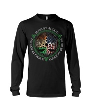 Irish by blood patriot by choice American Tree Long Sleeve Tee thumbnail