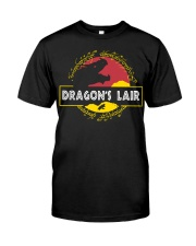 Dragon's Lair Jurassic Park shirt Classic T-Shirt front