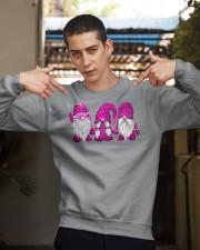 Hanging With Pink Gnomies Sweatshirt Crewneck Sweatshirt apparel-crewneck-sweatshirt-lifestyle-04