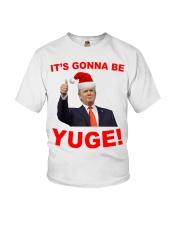 Trump Santa Claus it's gonna be Yuge shirt Youth T-Shirt thumbnail