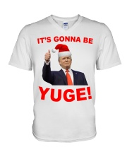 Trump Santa Claus it's gonna be Yuge shirt V-Neck T-Shirt thumbnail