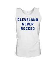 Cleveland Never Rocked Shirt Unisex Tank thumbnail