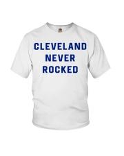 Cleveland Never Rocked Shirt Youth T-Shirt thumbnail