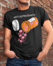 Antidepressants Flamingos shirt Classic T-Shirt apparel-classic-tshirt-lifestyle-26