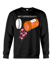 Antidepressants Flamingos shirt Crewneck Sweatshirt thumbnail