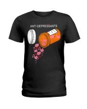Antidepressants Flamingos shirt Ladies T-Shirt thumbnail