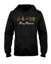 Sewing quilting Wine Merry Christmas shirt Hooded Sweatshirt thumbnail