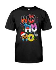 Ho Ho Ho Mickey Disney Christmas shirt Classic T-Shirt front