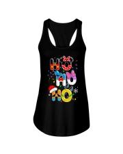 Ho Ho Ho Mickey Disney Christmas shirt Ladies Flowy Tank thumbnail