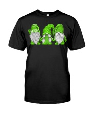 Hanging With Green Gnomies Sweatshirt Classic T-Shirt thumbnail