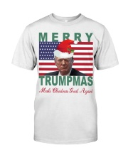 Merry Trumpmas Make Christmas Great Again shirt Classic T-Shirt front