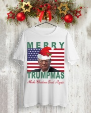 Merry Trumpmas Make Christmas Great Again shirt Classic T-Shirt lifestyle-holiday-crewneck-front-2