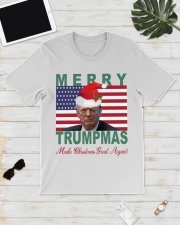 Merry Trumpmas Make Christmas Great Again shirt Classic T-Shirt lifestyle-mens-crewneck-front-17