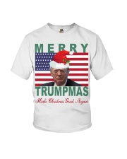 Merry Trumpmas Make Christmas Great Again shirt Youth T-Shirt tile