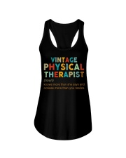 Vintage Physical Therapist define shirt Ladies Flowy Tank thumbnail