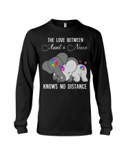 Elephants The love between Aunt and Niece shirt Long Sleeve Tee thumbnail