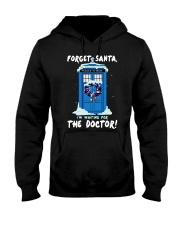 Forget Santa I'm waiting for the Doctor sweater Hooded Sweatshirt thumbnail