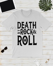 Death by rock and roll shirt Classic T-Shirt lifestyle-mens-crewneck-front-17