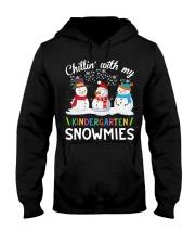 Chillin' with my Kindergarten snowmies shirt Hooded Sweatshirt thumbnail