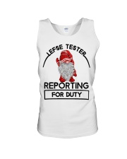 Gnomie Lefse tester reporting for duty shirt Unisex Tank thumbnail