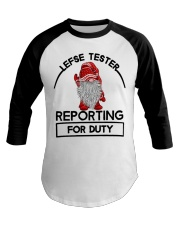 Gnomie Lefse tester reporting for duty shirt Baseball Tee thumbnail