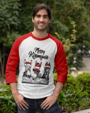 Donkeys Merry Kissmyass shirt Baseball Tee apparel-baseball-tee-lifestyle05