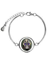 Limited edition  Metallic Circle Bracelet front