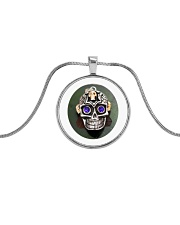 Limited edition  Metallic Circle Necklace thumbnail