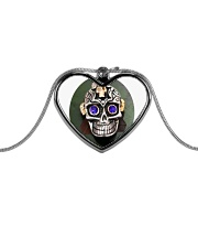 Limited edition  Metallic Heart Necklace thumbnail