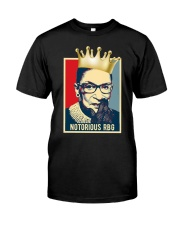 The Notorious RBG Classic T-Shirt front