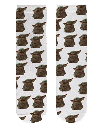 Baby Yoda Socks Star Wars The Mandalorian Sock