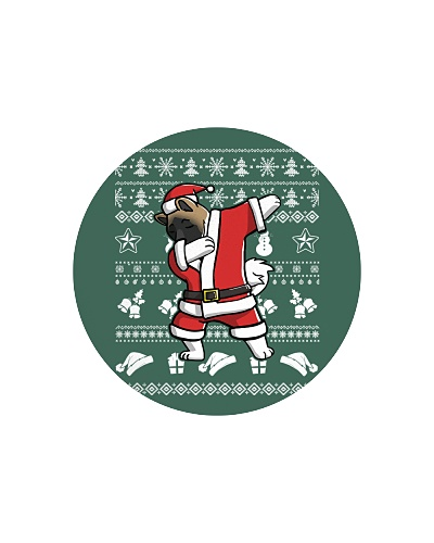 Akita Dabbing Christmas