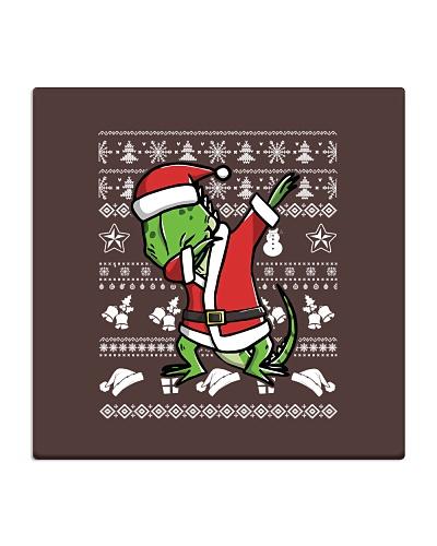 Iguana Dabbing Christmas