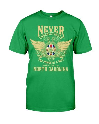 Brit in North Carolina - United Kingdom Proud