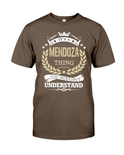 It's a MENDOZA Thing - Name Tee