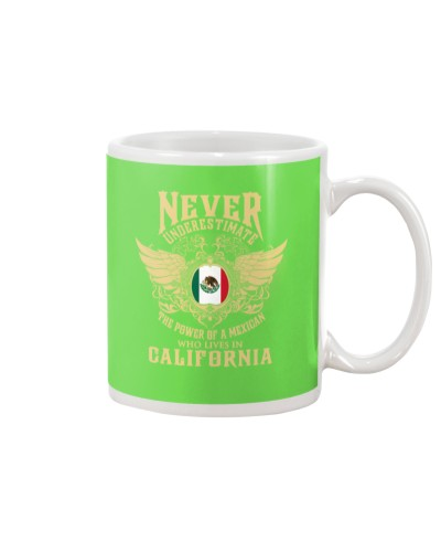 Mexican lives in California