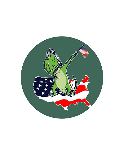 Iguana Dabbing Dab Dance