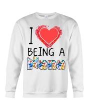 I Love Being A Nana Crewneck Sweatshirt thumbnail