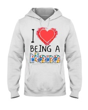 I Love Being A Nana Hooded Sweatshirt thumbnail