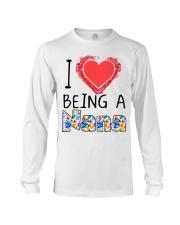 I Love Being A Nana Long Sleeve Tee thumbnail