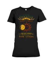 I Am The Daughter Of The Sun And Moon Premium Fit Ladies Tee thumbnail