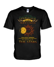 I Am The Daughter Of The Sun And Moon V-Neck T-Shirt thumbnail