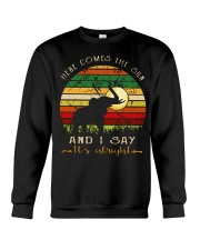 Here Comes The Sun And I Say It's Alright Crewneck Sweatshirt thumbnail