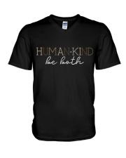 Human Kind V-Neck T-Shirt thumbnail