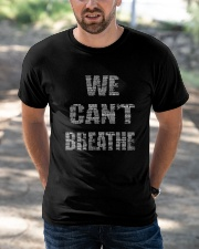 We Can't Breathe Classic T-Shirt apparel-classic-tshirt-lifestyle-front-50