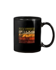 Distressed Vintage Musky Fishing Is My Favorite Mug thumbnail
